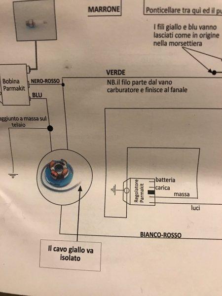 Schema Elettrico Bobina Di Accensione : Batteria e accensione vmc page telaio impianto