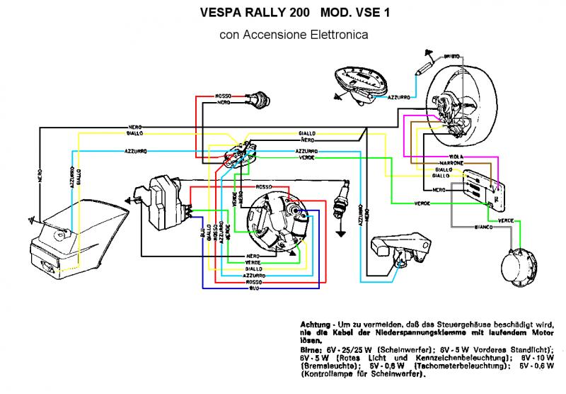 Schemi Elettrici Moto : Femsatronic telaio e impianto elettrico tempi