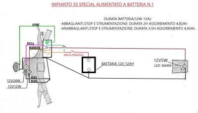 Impianto Vespa 50 special sotto batteria.jpg